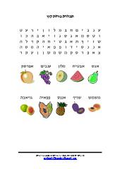 תפזורת פירות קיץ