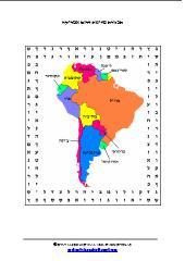 תפזורת מדינות דרום אמריקה