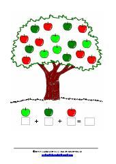 סכמו את כל התפוחים